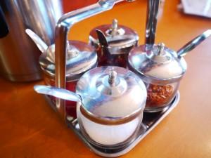 カフィアライム  Aセット(鶏ひき肉の炒め物)