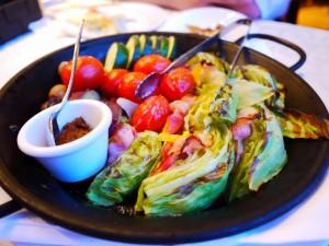 リストランテ ベニーレベニーレ  旬野菜の素焼きグリル 素烤蔬菜
