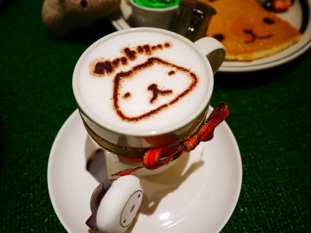 原宿 表参道 カフェ カピバラさん ホットチョコレート 热巧克力
